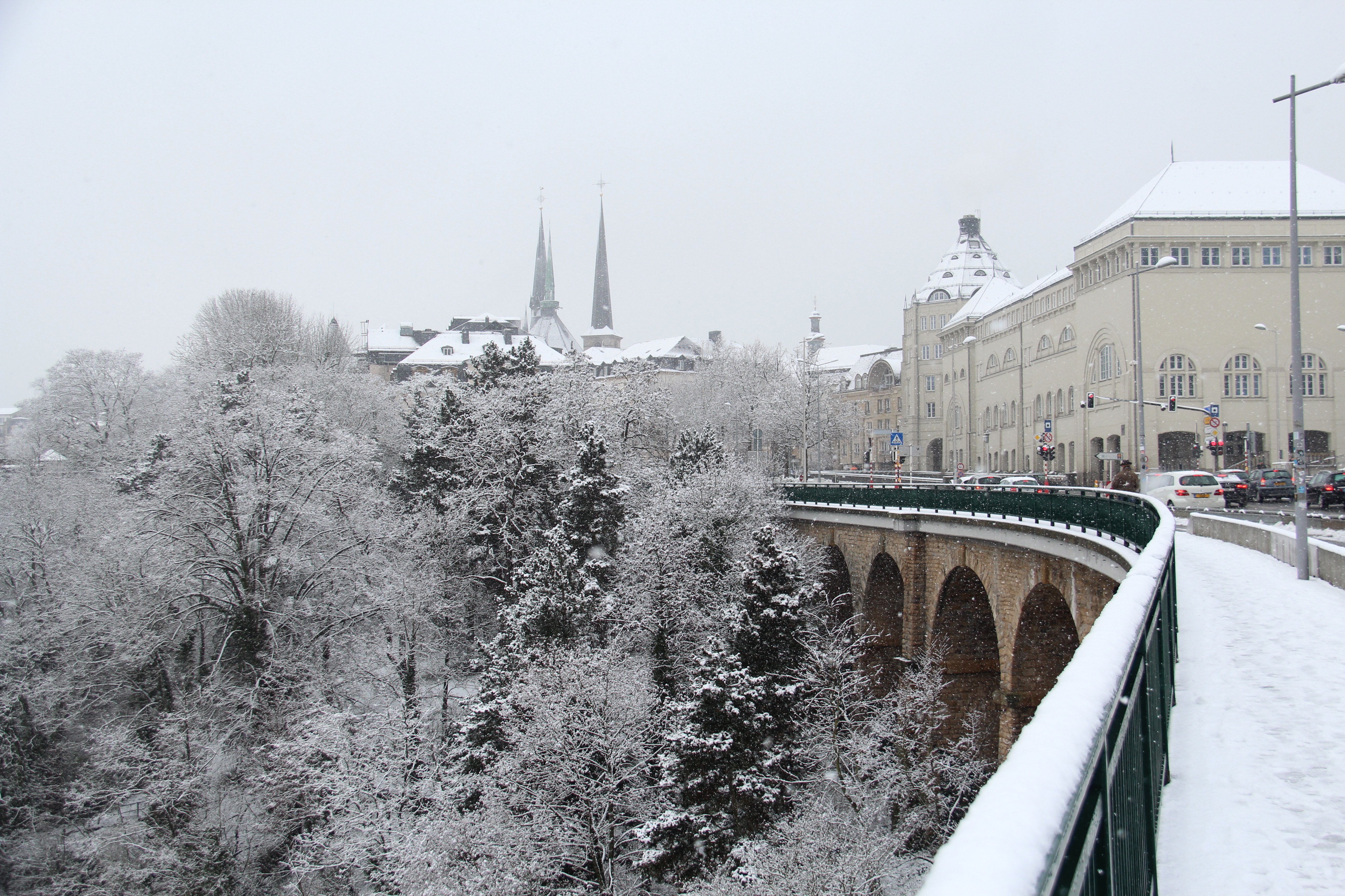 How to discover luxembourg city in the snow luxembourg meets the world img6577 altavistaventures Choice Image
